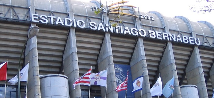Santiago Bernabeu Stadium Real Madrid