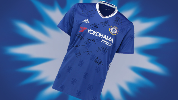 Attend the raffle of a signed Chelsea shirt!